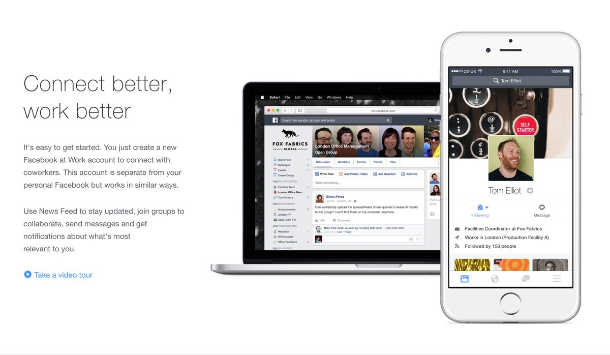 Facebook to Launch Its Office Communication Tool 'Facebook at Work
